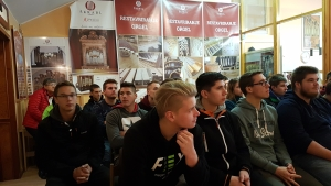 Strokovna ekskurzija v furnirnico Merkscha in orglarstvo Škrabl