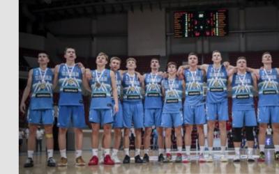 Slovenska moška košarkarska reprezentanca do 18 let zlata