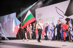 Dijaško podjetje Teglc na evropskem tekmovanju v Beogradu