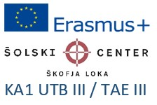 Erasmus+: KA1 Usposabljanje v tujini bogati III