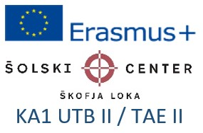 Erasmus+: KA1 Usposabljanje v tujini bogati II
