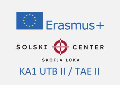 Erasmus+: KA102 Usposabljanje v tujini bogati II