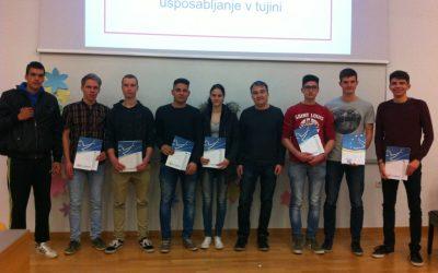 Zaključne predstavitve Erasmus+ mobilnosti