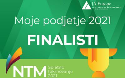 ŠC Škofja Loka med finalisti tekmovanja Moje podjetje 2021 z več dijaškimi podjetji