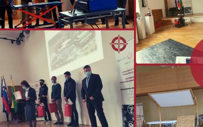 Odprtje razstave izdelkov dijakov in študentov ŠC Škofja Loka in podelitev nagrad