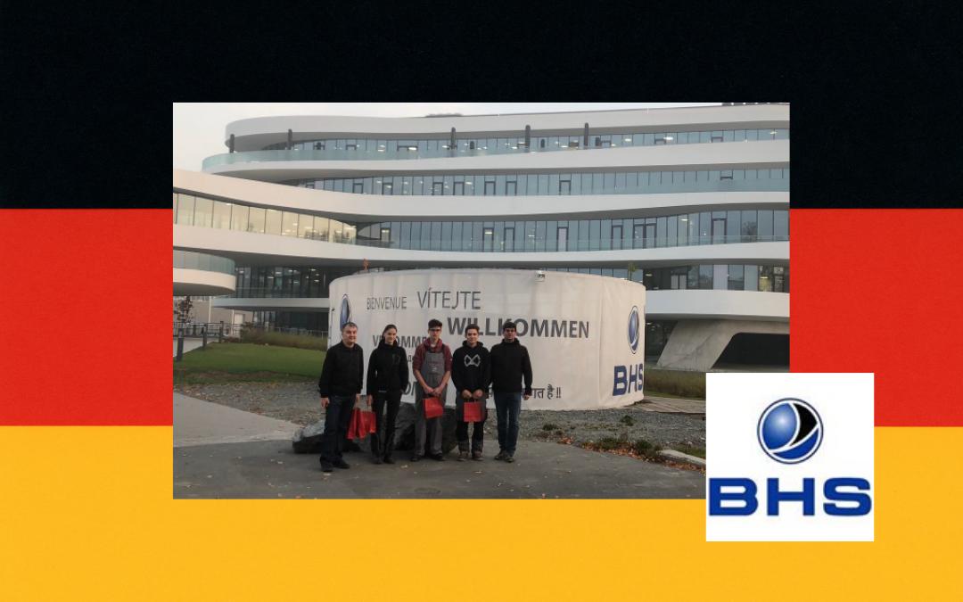 Na praksi v podjetju BHS Corrugated GmbH