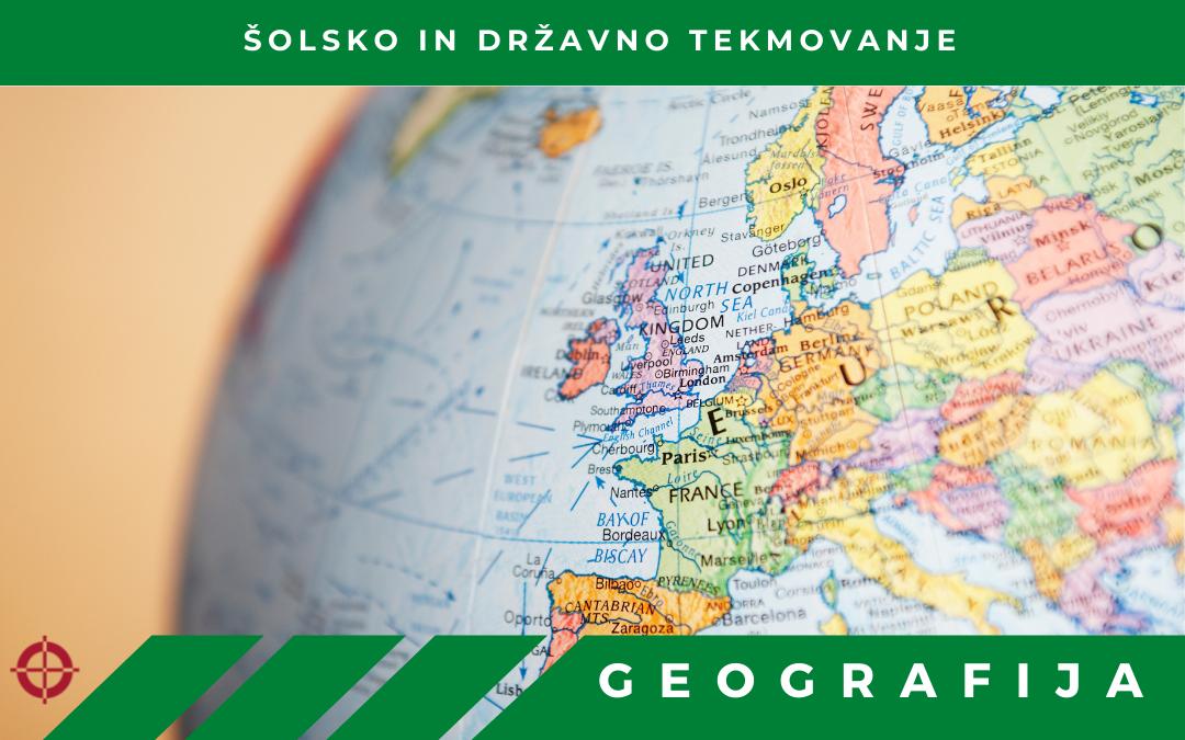 Tekmovanje iz znanja geografije