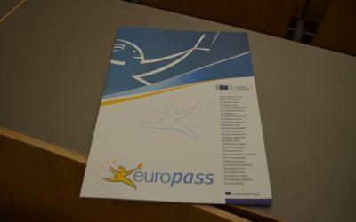 Podelitev certifikatov Europass na podelitvi maturitetnih spričeval