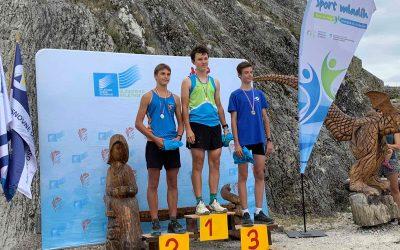 Drugo mesto na prvenstvu Slovenije v gorskih tekih za srednje šole si je pritekel dijak Srednje šole za lesarstvo
